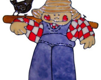 Scarecrow Window Cling