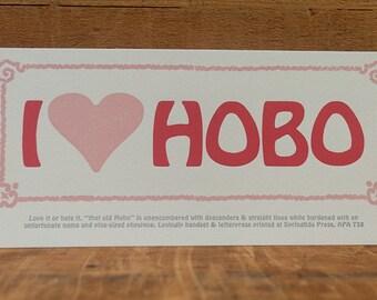 I Heart Hobo