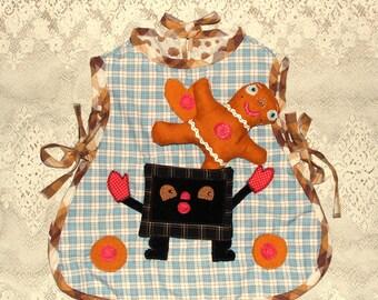 gingerbread boy play apron size 3-5yrs