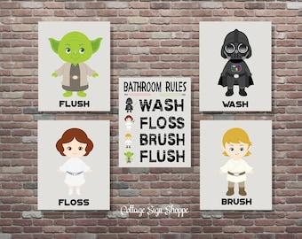 star wars bathroom  etsy, Bathroom decor