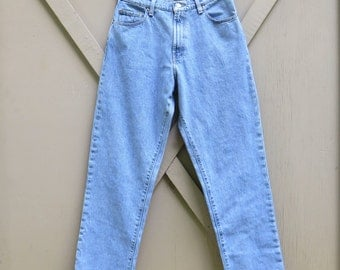 90s vintage Polo Ralph Lauren Loose Fit Faded Stone Wash Denim Jeans