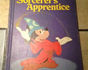1973 Disney's The Sorcerer's Apprentice Children's Book