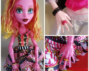 10 Rubber Rings fit 17 inch Peitie Slimline Dolls pick from 8 colors Limited Quantities Available
