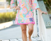 Personalized Beach Cover up Tunic 3 Styles