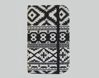Kindle Cover Hardcover, Kindle Case, eReader, Kobo, Kindle Voyage, Kindle Fire HD 6 7, Kindle Paperwhite, Nook GlowLight Black Aztec