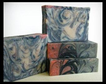 Neroli Juniper Goat Milk Soap — Handmade Shea Butter Soap with Silk, Aloe Vera, Clay, Activated Charcoal — For Men and Women, yogurt soap