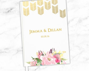 Wedding Guest Book Simple Guestbooks Affordable Guest Books Formal Personalized Wedding Keepsakes Graduation Bar Mitzvah Sign In Books