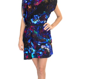 Fluorescent Jersey Dress