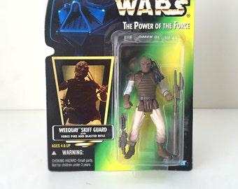 Star Wars Figure, Weequay Skiff Guard - Kenner Star Wars Kids Toy, Return of the Jedi, Original Trilogy, Star Wars Alien - Fathers Day Gift