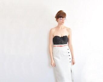 high waist baseball uniform skirt . league of their own secretary wear .extra small.xs