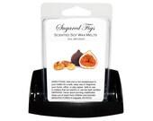 SUGARED FIGS Soy Melts - Wax Tarts - Soy Tarts - Candle Tarts - Melting Tart - Scented Tart - Tart Melt - Wax Melt - Clamshell - Dye Free