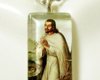 Saint Juan Diego pendant with chain - GP09-220