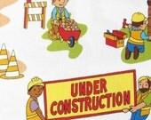 Cotton Fabric- Michael Miller Under Construction