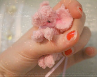 Custom Baby Elephant Miniature One of a Kind Sweet Animals of Fantasy