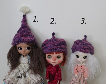 Choose - Purple Funny Bulky hats for Blythe / Pullip / Dal / SD doll