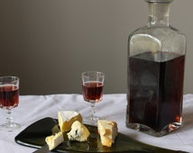 Recycled Bottle Cheeseboard platter and knife Set