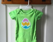 Easter Baby Bodysuit (12 months), Easter Egg Bodysuit, Easter Baby Shirt, Easter Baby Boy, Easter Baby Girl, Baby's First Easter