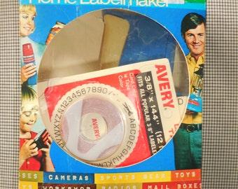 DYMO Home Labelmaker 1972