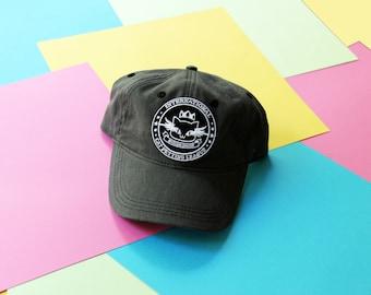 Cat Petting League Patch Baseball Hat - Strapback CUSTOM COLOR