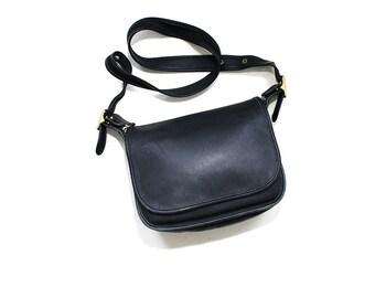 Vintage Coach Bag / Coach Patricias Legacy Bag / Black Coach Purse