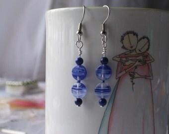 Blue Jean earrings