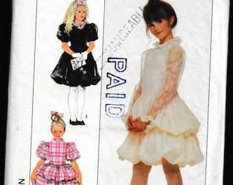 Simplicity 8364 Girls Party Dress
