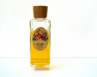 Vintage Apple Blossom Cologne by Lander - Fifth Avenue New York - 2 fl. oz - 1950s - 75% full