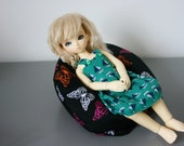 YoSD Littlefee or Pukifee Lati Yellow BJD BeanBag Chair