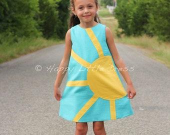 Linen Dress for Girls.