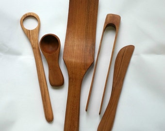 Breakfast Wood Spoon Gift Set