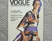 April/May 1970 Vogue Pattern Book International   112 pages of Fashion Photography, Ads, & Articles