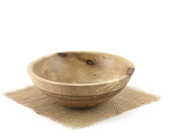 Wooden Maple Bowl, Maple Fruit Bowl, Wooden Serving Dish / Candy Dish