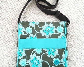 Flower cross body / shoulder bag