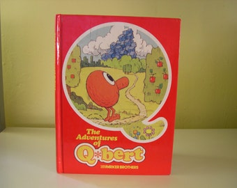 Vintage The Adventures of Q-bert Parker Brothers Book