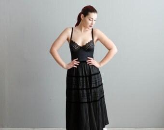 1950s Skirt - Vintage 50s Party Skirt - All Alright Skirt