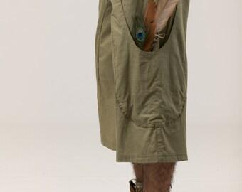 Linen Bag Pants For Men - cotton pants - summer pants for men - men's clothing