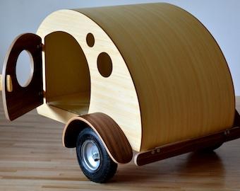 Teardrop Dog Crate