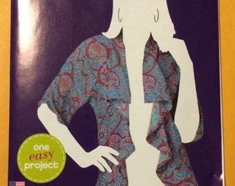 Pattern Misses Kimono Jacket 1050 Simplicity Size XS-XL New Uncut Factory Fold