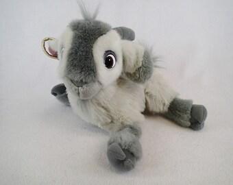 Djali Goat Plush Hunch Back of Notre Dame Jingling Bells 12 Inch Tall By Mattel