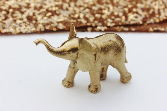 Buy Gold Elephant For Wedding Cake