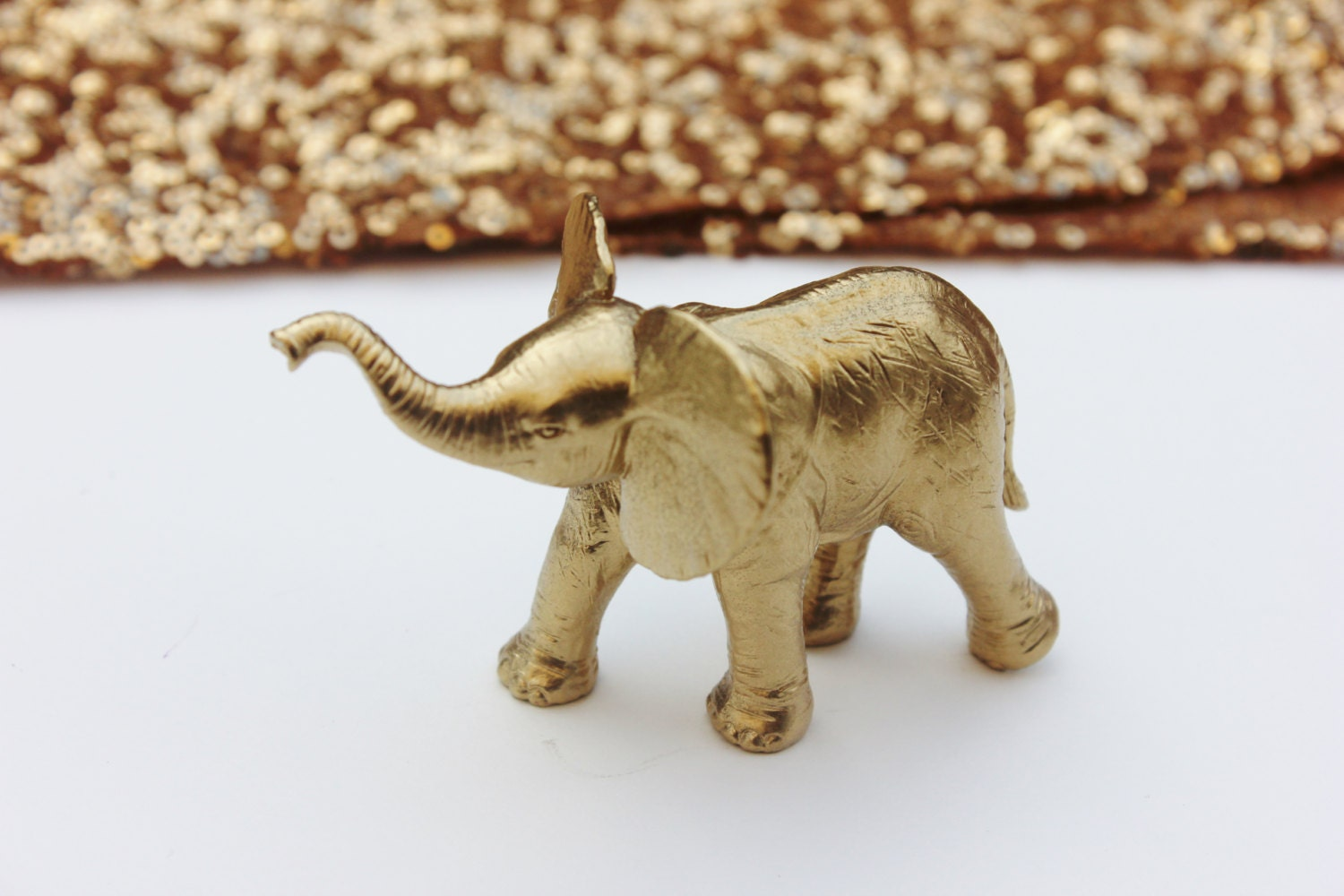 Indian Elephant Figurine Small Cake Topper Buy