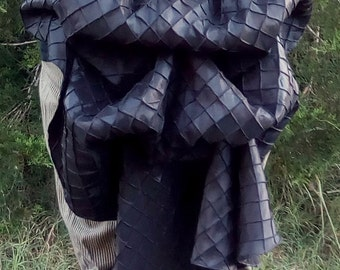 Made to Order Custom Color Tie-on Steampunk Bustle Skirt - One Size Fits All