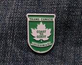 Trans Canada Highway - Soft Enamel Pin