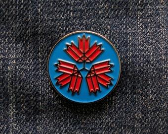 67 Leaves - RCAF - Soft Enamel Pin