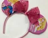 Sleeping Beauty Mouse Ears with Bow - Mad Ears