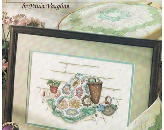 Blue Ribbon Winner Book 16 by Paula Vaughan Published by Leisure Arts