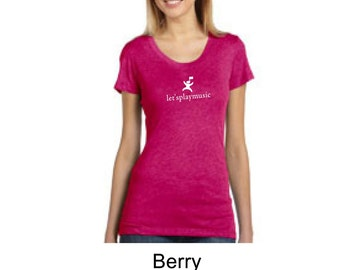 8413 bella letsplaymusic teacher shirt triblend