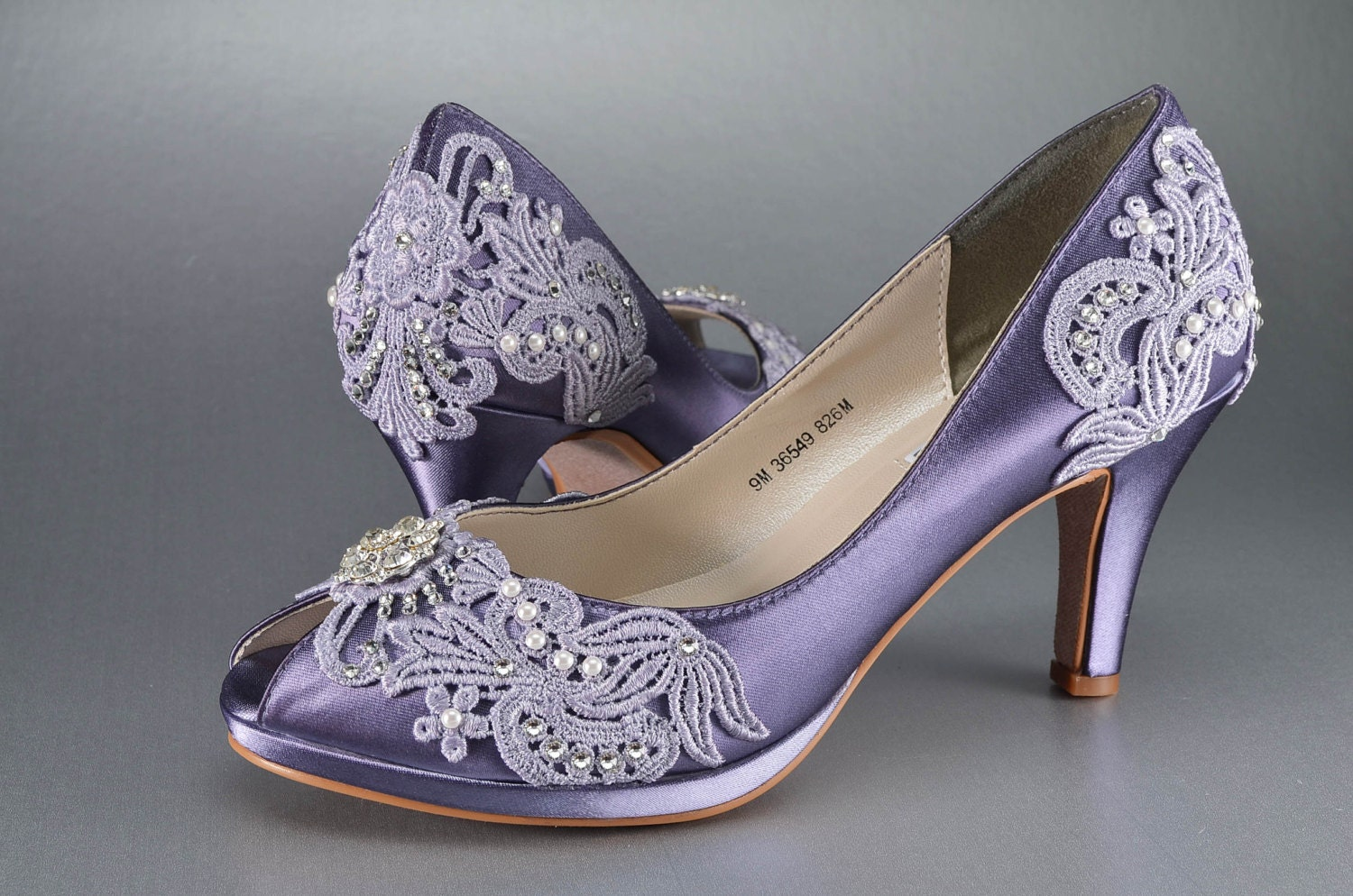 Womens Wedding Shoes Vintage Lace Wedding Shoes Bridal