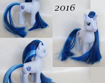 Custom Rehaired My Little Pony FiM Friendship is Magic Shining Armor Unicorn
