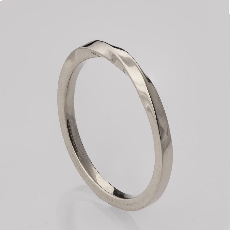 Mobius Ring Platinum Ring Wedding Ring Platinum Wedding